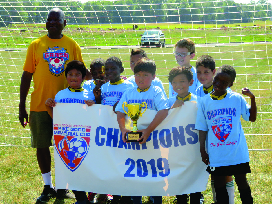 U10 Boys Akron Inner City Hurricanes were the Champions at the  Mike Good Memorial Cup