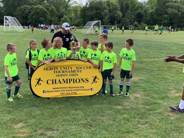 10th ANNUAL AKRON UNITY TOURNAMENT PRESENTED BY:  AKRON INNER CITY SOCCER CLUB